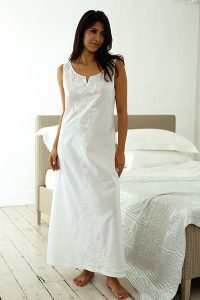 Una Cotton Nightdress by Damask