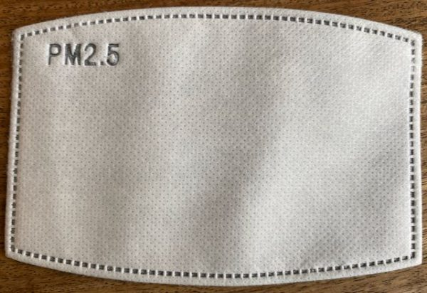 Filter for our Cotton Reversible Face Masks from Damask
